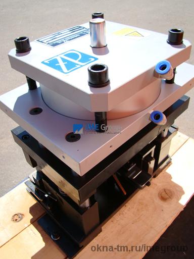Пресс матрица проведал Р400, industrias AZ (Испания)
