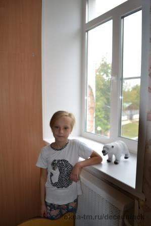 Компания «Декёнинк» поменяла окна в детском реабилитационном центре в Серпухове