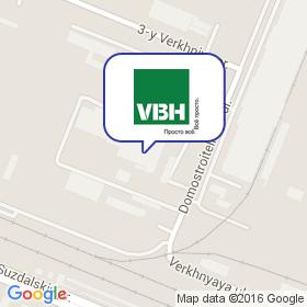 VBH на карте
