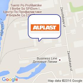 Ал Пласт-Регион на карте