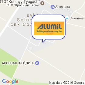 Alumil на карте