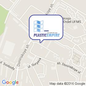Империя Пластика на карте