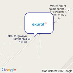 ЭксПроф на карте