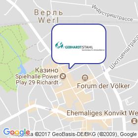Gebhardt-Stahl GMBH на карте