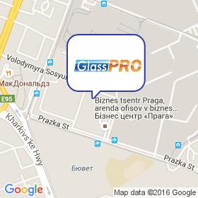 ГлассПро на карте