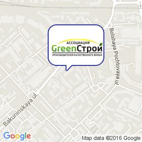 ГринСтрой на карте