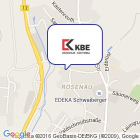 KBE Fenstersysteme на карте