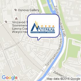 Латераль на карте