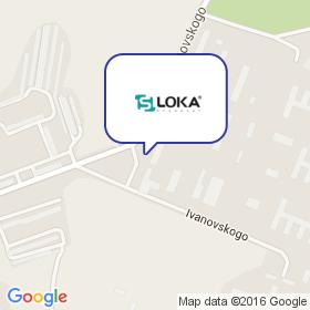 LOKA на карте