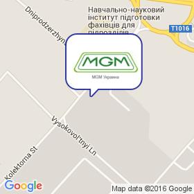 MGM-Украина на карте
