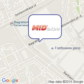 МИДЭКСПО на карте