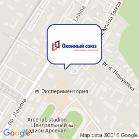 Оконный Союз на карте