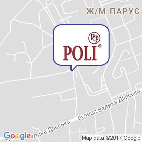 Poli на карте