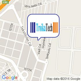 TroikaTech на карте
