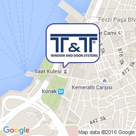 T&T на карте