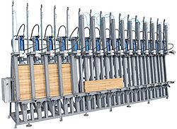 WP - 3001 Пресс для изготовления деревянного бруса
