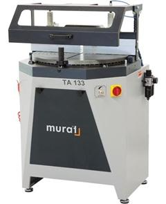 ТА-133 Автоматическая одноголовая пила с нижней подачей для ПВХ и алюминия, пильный диск 420 мм.