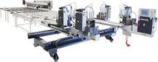 КD-658 Автоматический четырехголовый сварочный станок  Производительность: 150 окон (300 рам) / 8 ч.