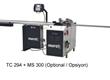 ТС-294+MS-300 Автоматический станок для резки штапика, основной пильный диск 200 мм, подрезной диск 100 мм.