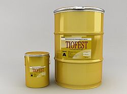 Герметик полисульфидный 2-х компонентный Тиофест(210л)