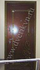 Металлическая дверь с ковкой — Кови плюс